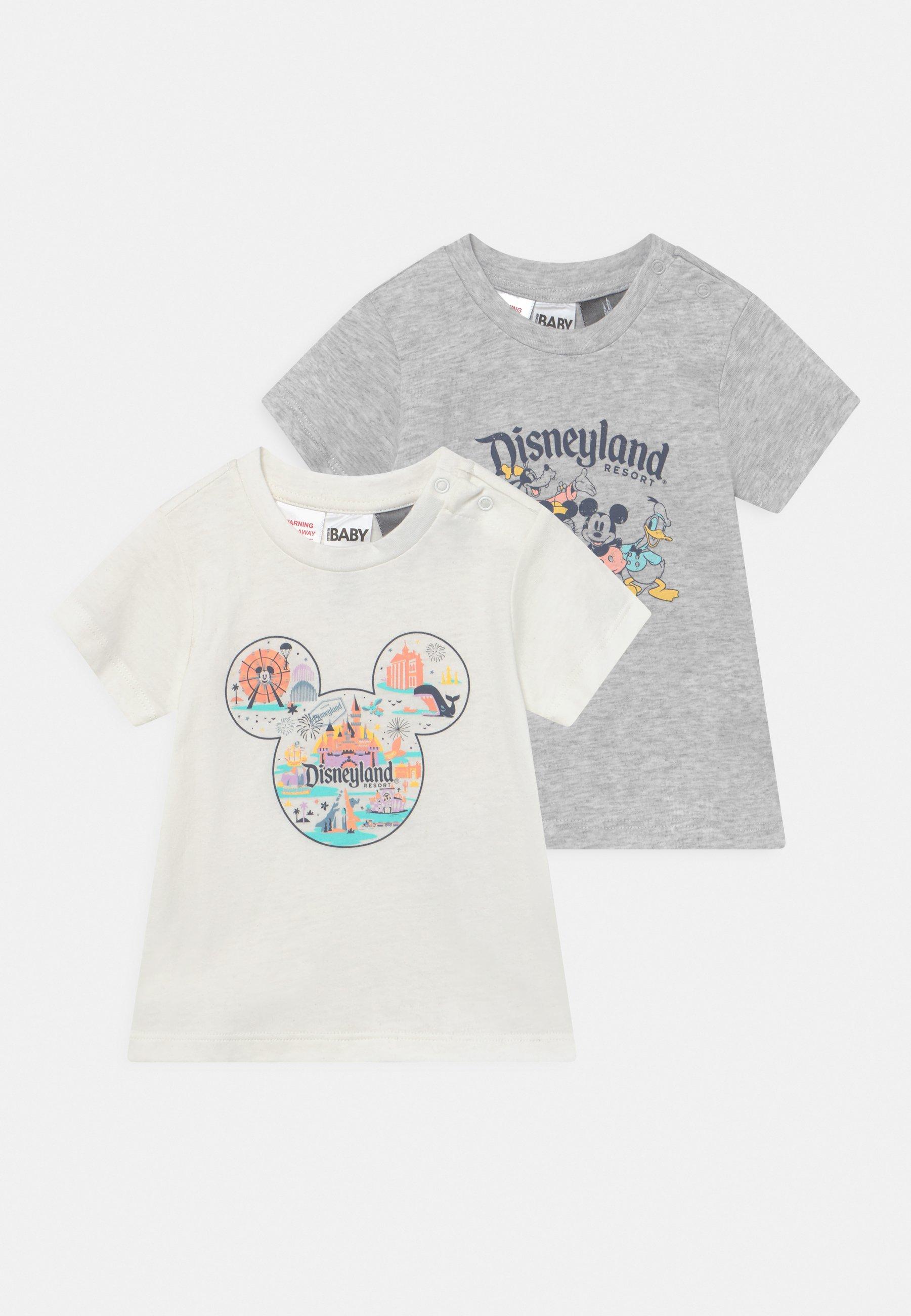 Kinder JAMIE SHORT SLEEVE TEE 2 PACK UNISEX - T-Shirt print