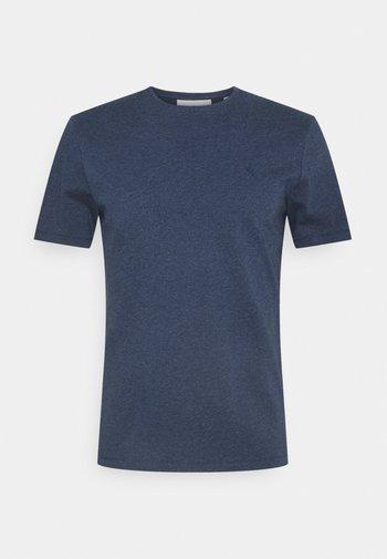 THOR CREW NECK  - Basic T-shirt - blue indigo melange