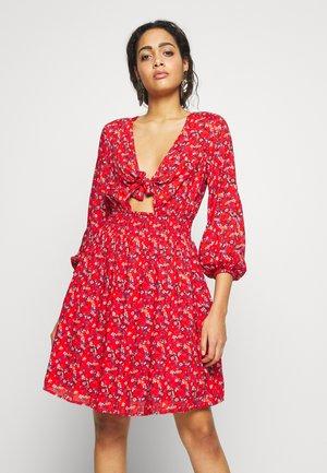 MARTA - Denní šaty - multi
