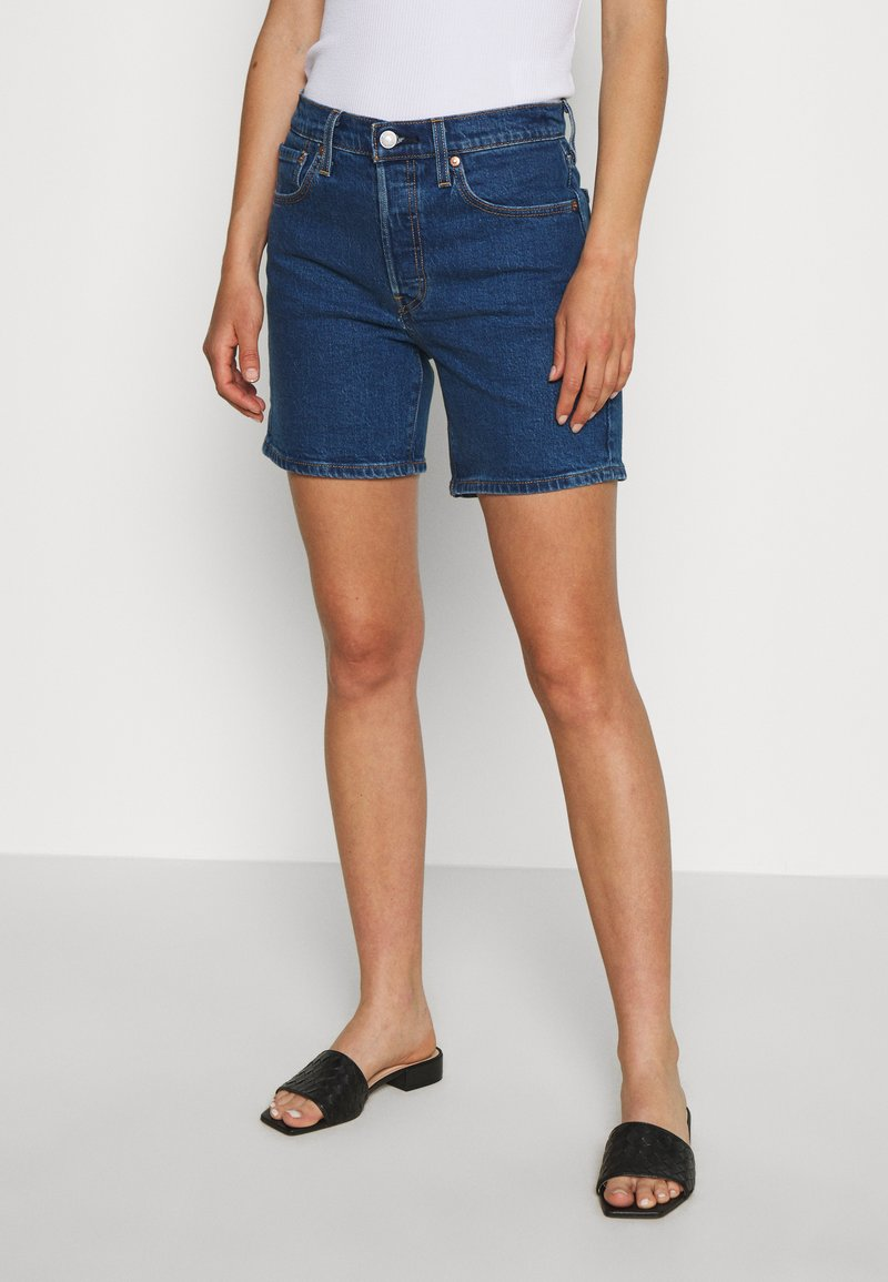 Levi's® - 501® MID THIGH - Shorts di jeans - charleston shadow