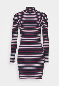 Tommy Jeans - STRIPE DRESS - Sukienka z dżerseju - twilight navy - 3