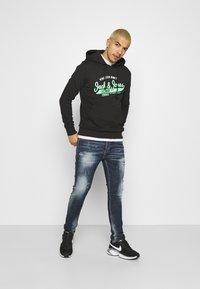 Alessandro Zavetti - CHEILLINI SUPER SLIM - Slim fit jeans - indigo - 1