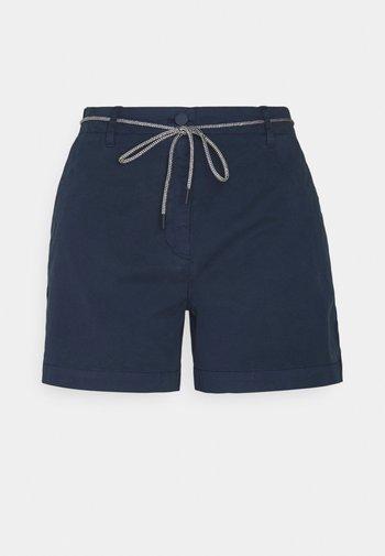 STRETCH - Shorts - dress blue