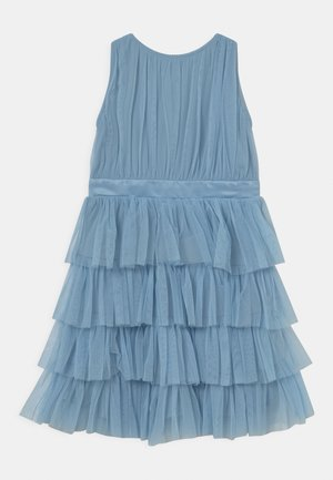 TIERED DRESS - Cocktailjurk - dream blue