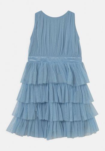 TIERED DRESS - Vestido de cóctel - dream blue