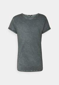 Tigha - MILO - Print T-shirt - vintage silver grey - 0