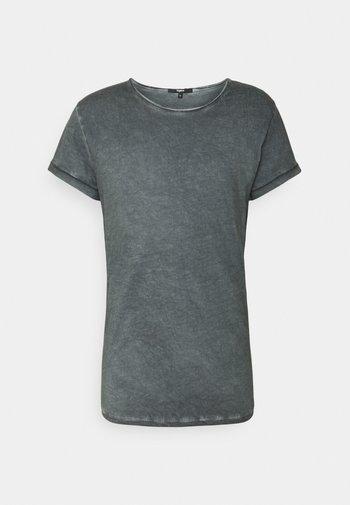 MILO - T-shirt med print - vintage silver grey