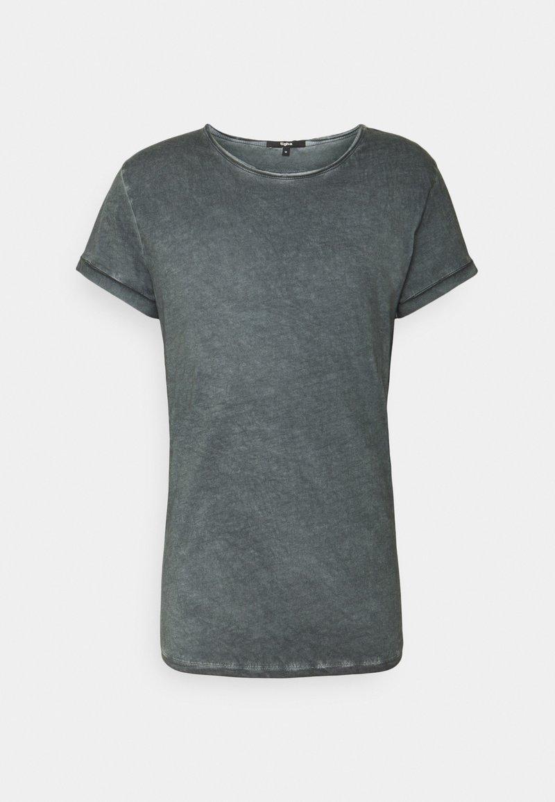 Tigha - MILO - Print T-shirt - vintage silver grey