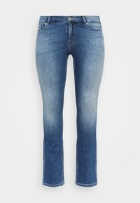 ONLY Carmakoma - CARCORA LIFE - Slim fit jeans - dark blue denim - 6