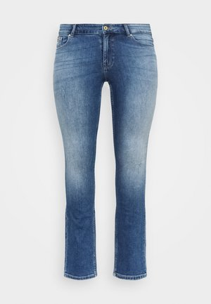 CARCORA LIFE - Jeans slim fit - dark blue denim