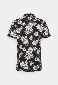 Abercrombie & Fitch - SUMMER RESORT - Shirt - black grounded large scale white - 1