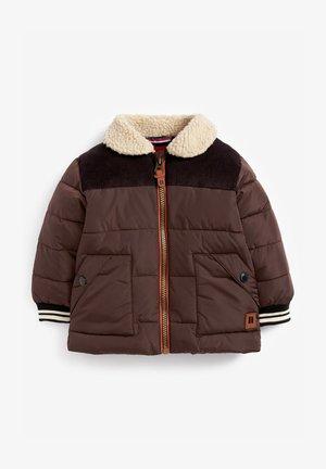 Winter jacket - dark brown