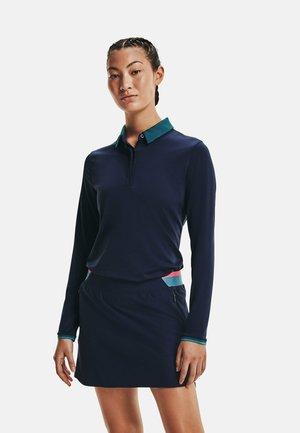ZINGER LONG SLEEVE  - Polo shirt - blue