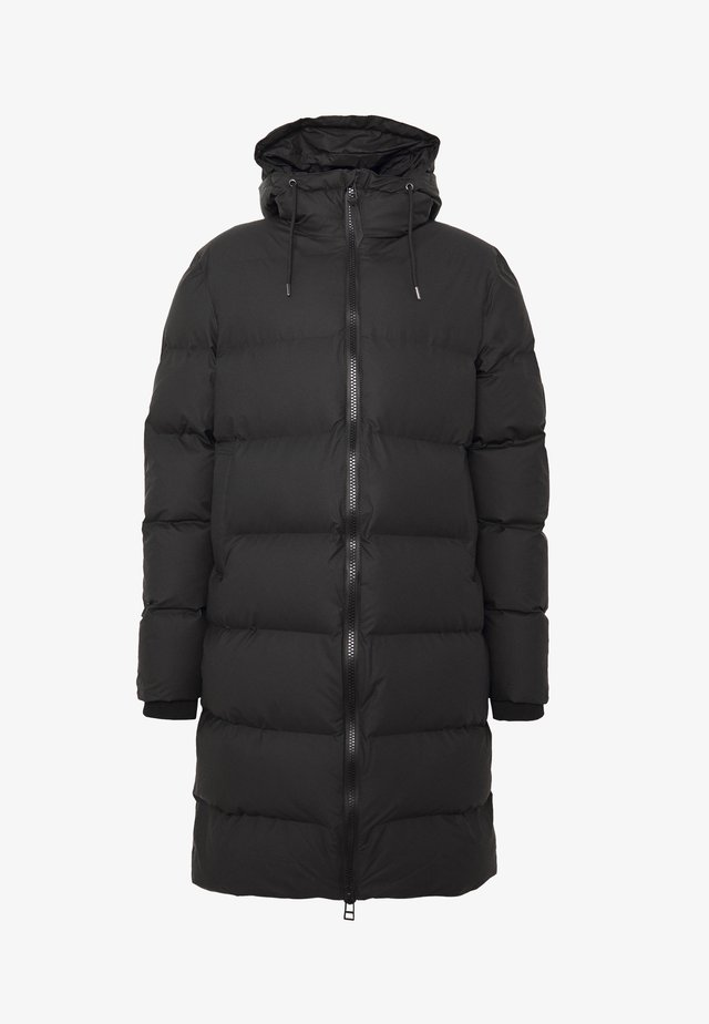 LONG PUFFER JACKET - Winter coat - black
