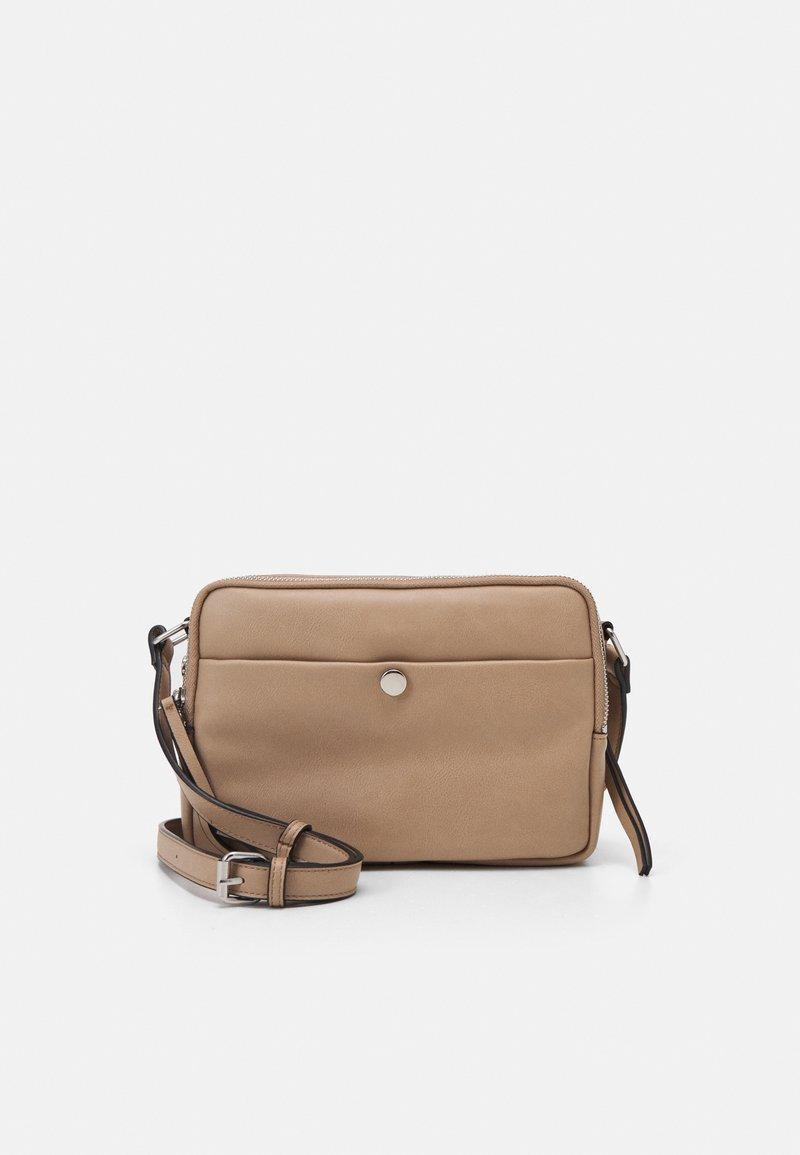 Marks & Spencer London - CASUAL CAMERA BAG - Across body bag - caramel