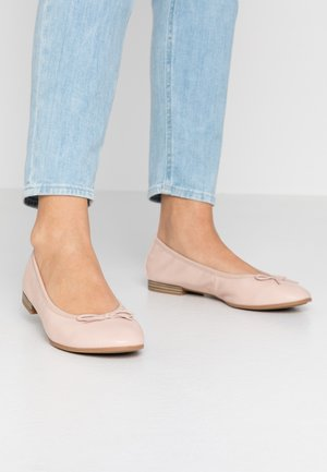 Ballet pumps - rose