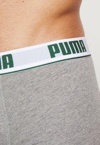 Puma - BASIC TRUNK 2 Pack - Culotte - dark green/grey - 4