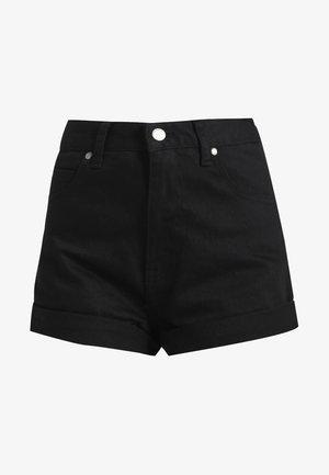 JENN  - Denim shorts - black