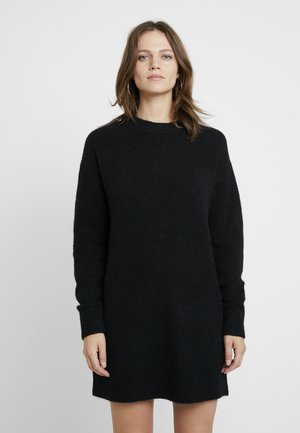 DRESS - Jumper dress - solid black