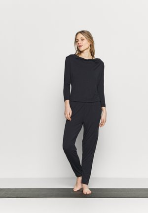 JUMPSUIT WATERFALL - Tracksuit - midnight blue