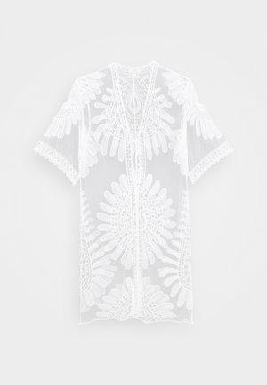 HUDINA KIMONO - Summer jacket - snow white