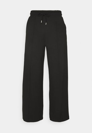SLFJODY  - Tracksuit bottoms - black