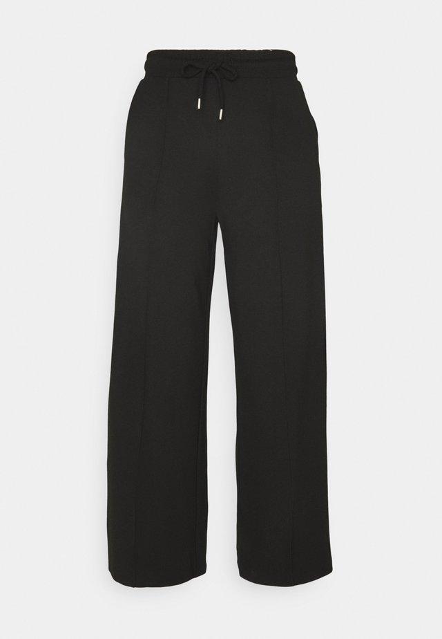 SLFJODY  - Pantalon de survêtement - black