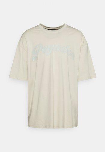 COROZAL OVERSIZED TEE UNISEX - Jednoduché triko - whisper white