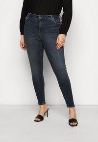 Vero Moda Curve - VMSOPHIA - Jeans Skinny Fit - dark blue denim - 0