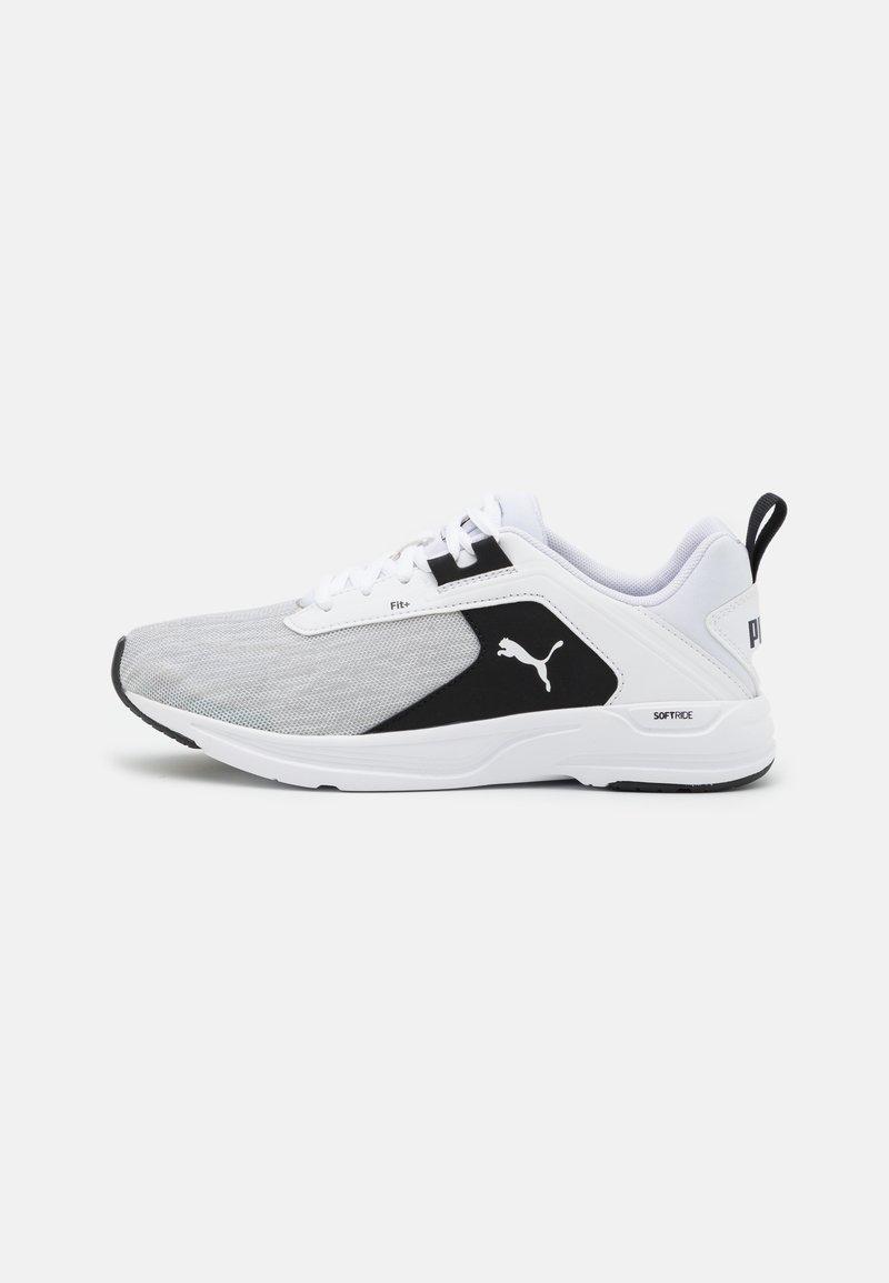 Puma - COMET 2 UNISEX - Neutral running shoes - white/black