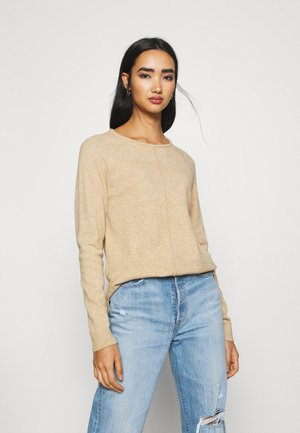 VIRIL ONECK - Strickpullover - brown