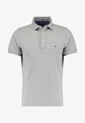 SLIM FIT - Polo shirt - cloud heather