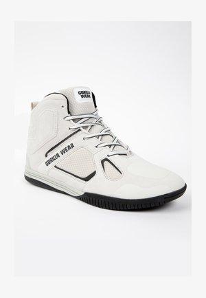 TROY  - Sneakers hoog - white