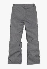 Volcom - CARGO PANT - Snow pants - heather grey - 1