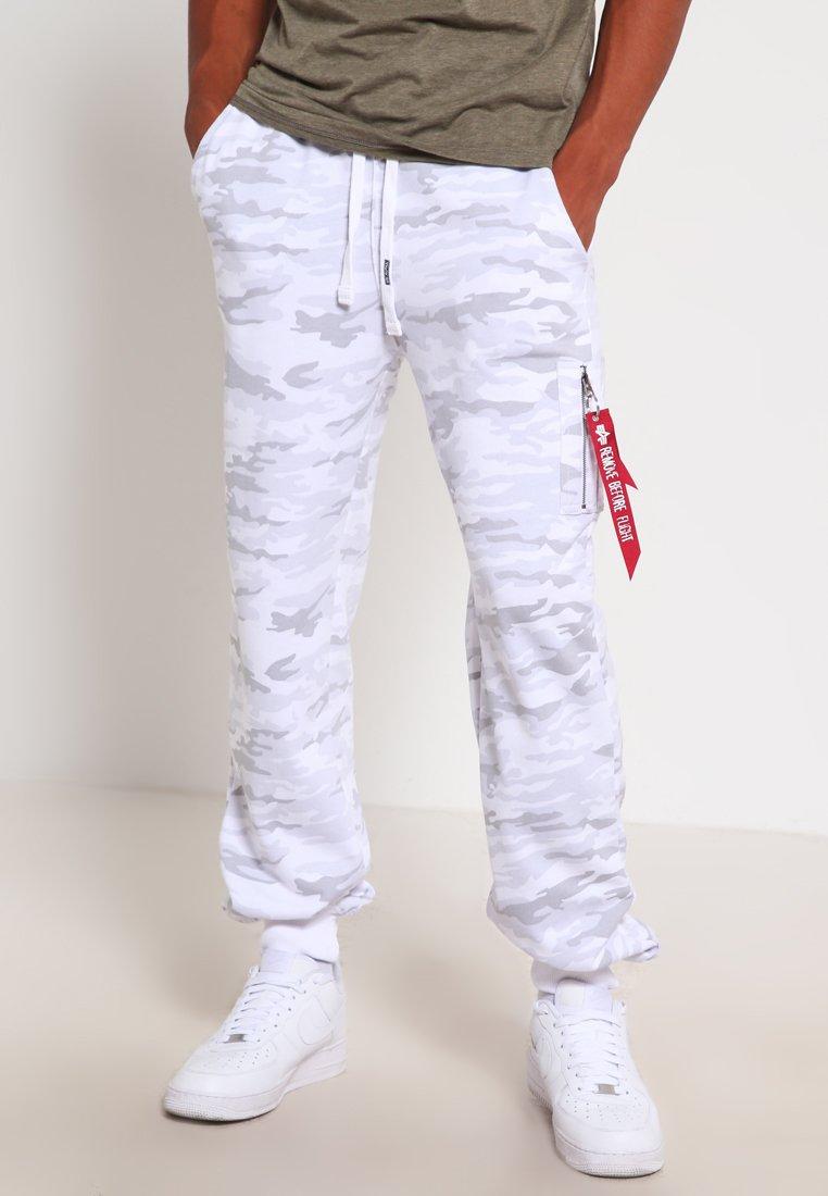 Alpha Industries - FIT PANT - Jogginghose - white