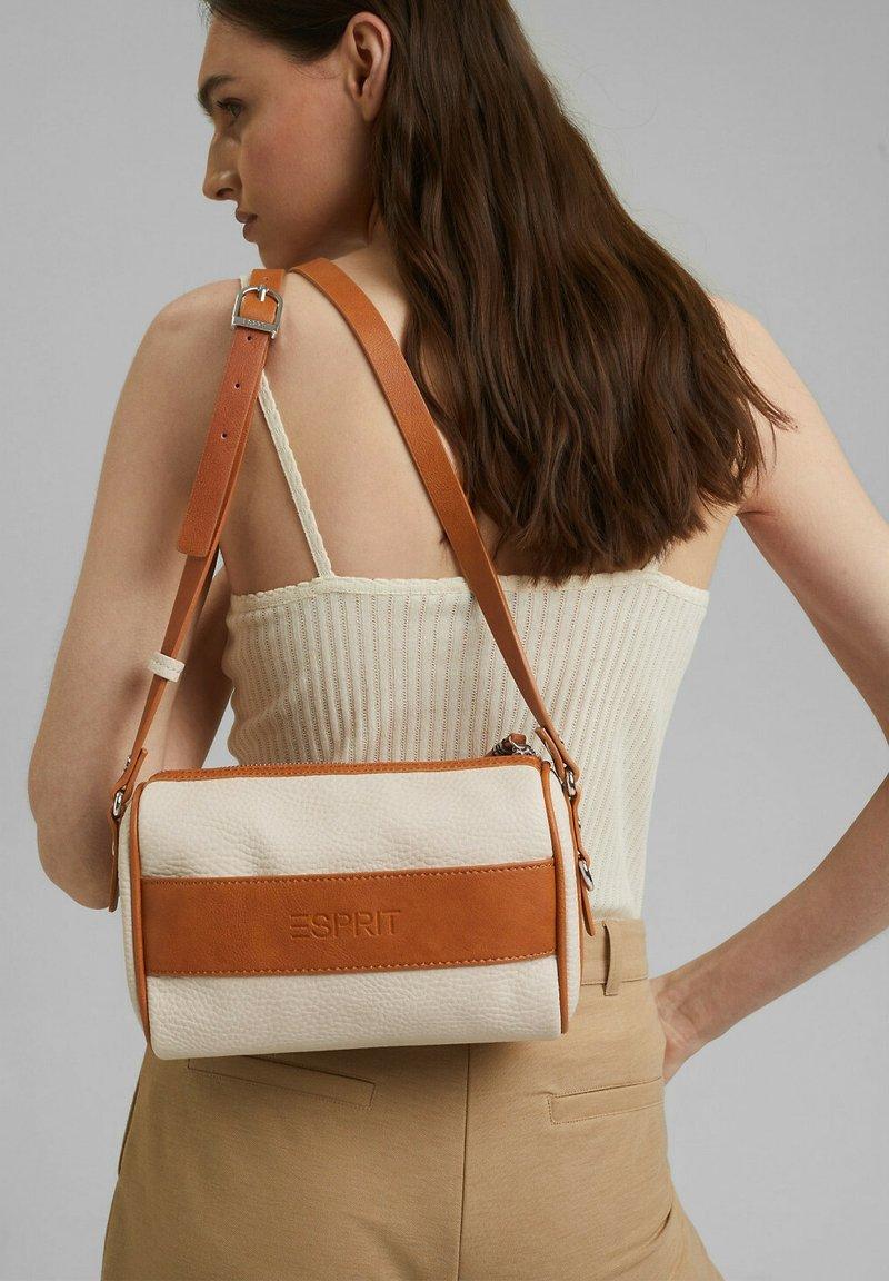 Esprit - Across body bag - beige, orange