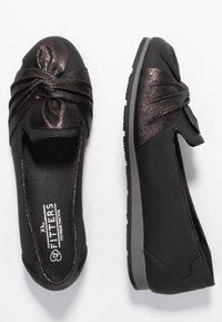 Fitters - MARGE - Baleriny - black - 1