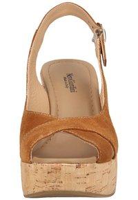 NeroGiardini - High heeled sandals - tabacco - 5
