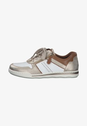 Baskets basses - white/gold comb