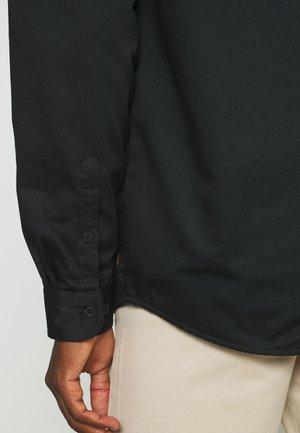 GRANT - Short coat - black