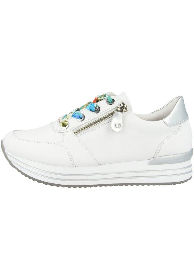 Sneaker low - hartweiss-argento-weiss (d1302-80)
