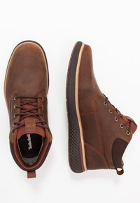 Timberland - CROSS MARK GTX CHUKKA - Lace-up ankle boots - medium brown - 1
