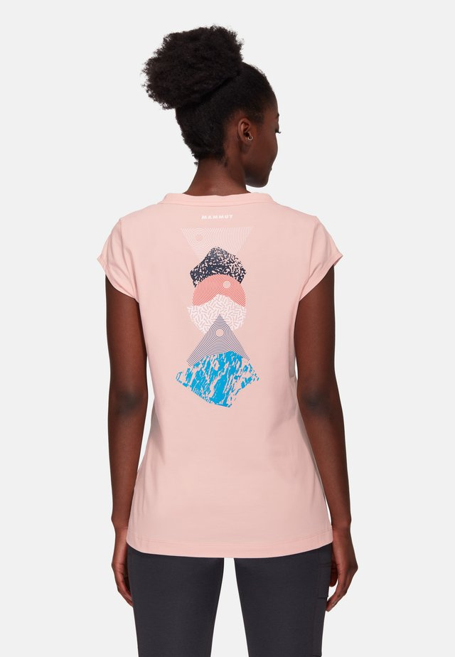 MASSONE - Print T-shirt - evening sand