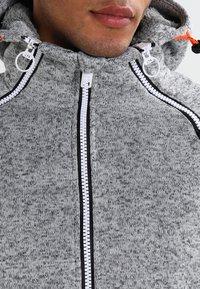 Superdry - STORM DOUBLE ZIPHOOD - Zip-up hoodie - grey grit - 3