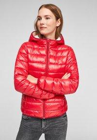 Q/S designed by - MIT KAPUZE - Winter jacket - red - 0