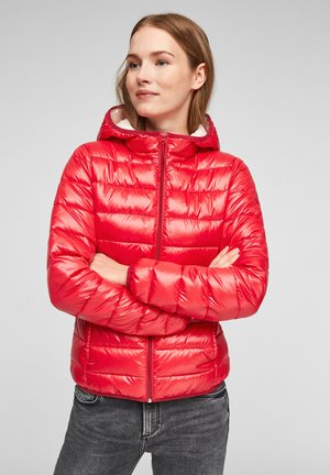 MIT KAPUZE - Winter jacket - red