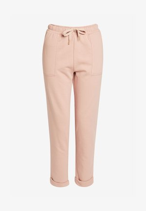 CO-ORD WIDE - Tracksuit bottoms - taupe