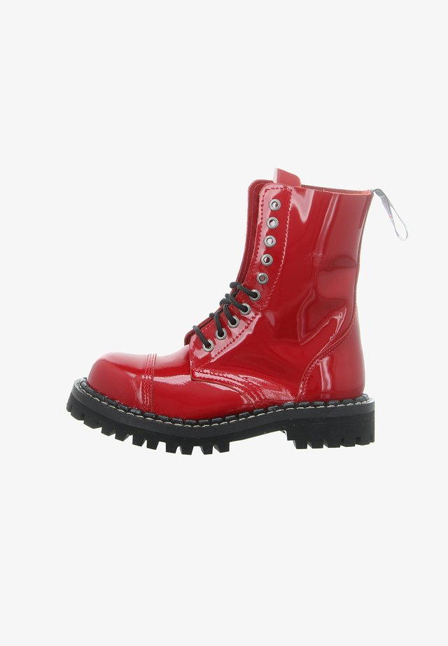 Lace-up ankle boots - rot