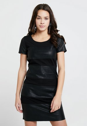 ONLNEW MARGOT MIX DRES - Sukienka z dżerseju - black