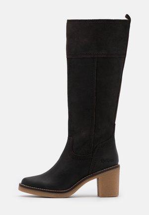 AVERNO - Boots - dark brown